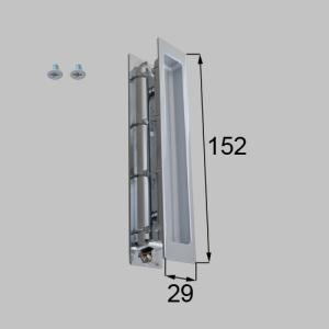 【トステム】 スリム角型引手 化粧トイレドア(ロックセット) MZHZHDS52 リクシル LIXIL riode
