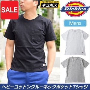ディッキーズ Tシャツ Dickies ヘビーコットン クルーネックT 全3色  WDHCC02  [M便 1/1]|ripe