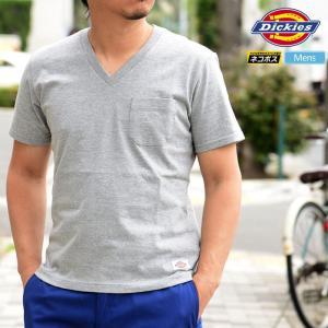 ディッキーズ Tシャツ Dickies ヘビーコットン VネックT 全3色  WDHCV02  [M便 1/1]|ripe