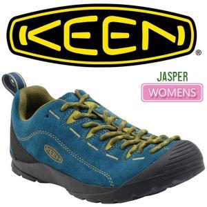 ・キーン KEEN ジャスパー ウィメンズ アウトドアスニーカー ダークネイビー/ミリタリーグリーン JASPER WOMENS|ripe