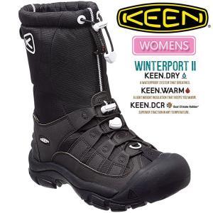 ・キーン KEEN  ウィンターポート2 ウィメンズ スノーブーツ ムーンレスナイト KEEN WINTERPORT II WOMENS|ripe