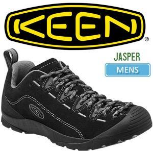 ・キーン KEEN ジャスパー アウトドアスニーカー  ブラック/スティールグレー KEEN JASPER|ripe