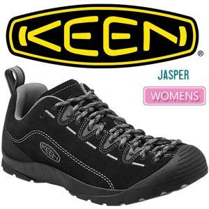 ・キーン KEEN ジャスパー ウィメンズ アウトドアスニーカー ブラック/スティールグレー JASPER WOMENS|ripe