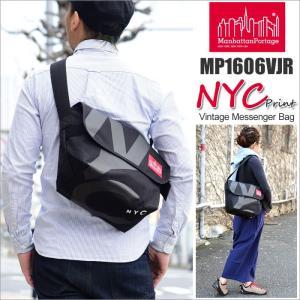 マンハッタンポーテージ Manhattan Portage NYCプリント ヴィンテージメッセンジャーバッグ  MP1606VJRNYC17SS NYC Print Vintage Messenger Bag|ripe