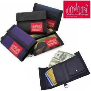 Manhattan Portage Park Avenue Wallet 全4色 マンハッタンポーテージ パークアベニュー ウォレット  10901E [M便 1/4] ripe