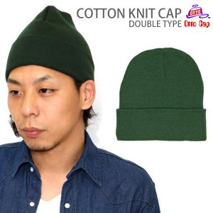 OTTO COTTON KNIT CAP DOUBLE TYPE 全3色  オットー コットンニットキャップ ダブルタイプ [M便 1/2] 返品交換不可|ripe