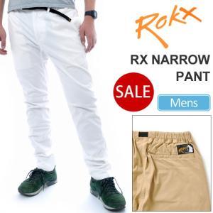 ロックス ROKX RX NARROW PANT 全4色  RXMS6202 ナローパンツ 返品交換不可 ripe
