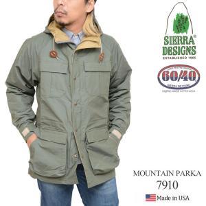 シェラデザイン SIERRA DESIGNS マウンテンパーカー 全4色  7910K MOUNTAIN PARKA|ripe
