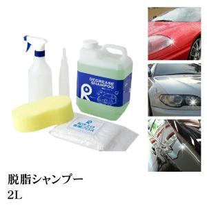脱脂剤 脱脂シャンプー シリコンオフ  研磨 コーティング剤 下地処理 洗車 ギヤアクション ダブル...