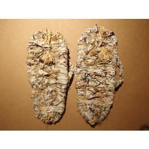 わら草履 / わらじ ワラジ 草鞋 藁草履 わらぞうり わらサンダル スリッパ サイズ:約23cm 手作り品の為、サイズはおおよそとなります。|rippa-koppa|04