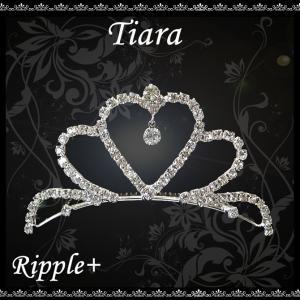 ミニティアラ ティアラ ミニ ヘアアクセサリー アクセ 髪飾り パーティー ウェディング 結婚式 発表会 演奏会 バレエ 子供|rippleplus-shop