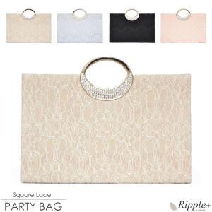 パーティーバッグ 結婚式 クラッチ 2Way 大きめ バッグ クラッチバッグ 二次会 謝恩会 レディース|rippleplus-shop