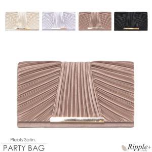 パーティーバッグ 結婚式 クラッチ 大きめ 2Way バッグ クラッチバッグ 二次会 謝恩会 レディース|rippleplus-shop