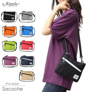 サコッシュ サコッシュバッグ ショルダーバッグ バッグ 斜め掛けバッグ レディース メンズ かばん 鞄 カバン 軽い シンプル フェス|rippleplus-shop