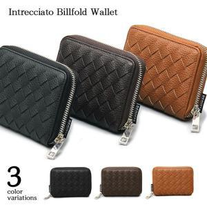 財布 二つ折り 二つ折り財布 メンズ レディース 小銭入れ 札入れ カード入れ ウォレット ファスナー さいふ 小さい シンプル おしゃれ 合皮 レザー|rippleplus-shop