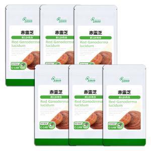 赤霊芝 約1か月分×6袋 C-148-6 サプリメント 送料無料