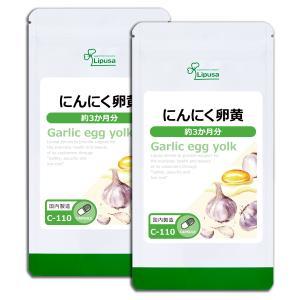 にんにく卵黄 約3か月分×2袋 C-110-2 サプリメント 送料無料