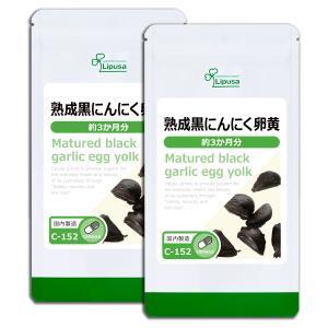熟成黒にんにく卵黄 約3か月分×2袋 C-152-2 サプリメント 送料無料