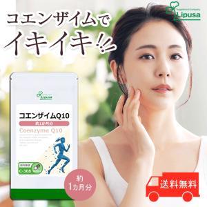 コエンザイムQ10 約1か月分 C-308 送料無料 サプリ...