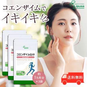 コエンザイムQ10 約1か月分×3袋 C-308-3 サプリメント 美容 送料無料|サプリメント専門店リプサ