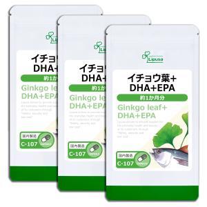 イチョウ葉&DHA・EPA 約1か月分×3袋 C-107-3 送料無料 サプリ サプリメント