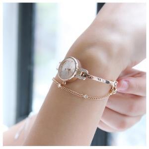 腕時計 レディース ブランド 時計 防水 ウォッチ ブレスレット おしゃれ 可愛い 20代 30代 40代 50代 ピンクゴールド JULIUS プレゼント 母の日 ギフト|rirty