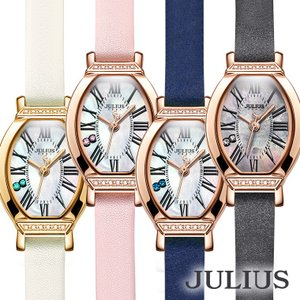 腕時計 レディース ブランド 防水 おしゃれ 人気 シェル 貝 革ベルト 上品 オフィス 20代 30代 40代 50代 JULIUS プレゼント Xmas クリスマス GIFT ギフトの画像