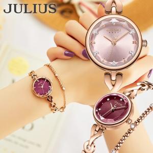 腕時計 レディース 防水 レディースウォッチ おしゃれ 人気 ブランド ブレスレット 10代 20代 30代 40代 50代 JULIUS プレゼント 母の日 ギフト|rirty