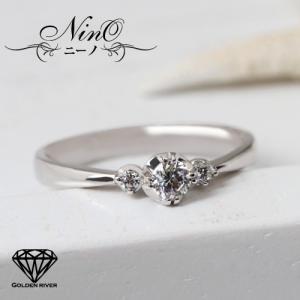 ダイヤモンドリング エンゲージリング ブライダルリング K18ゴールド 18金リング 指輪|risacrystal