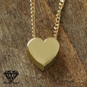 Love in Heartハート ペンダントネックレス K14ネックレス 14金イエローゴールド|risacrystal