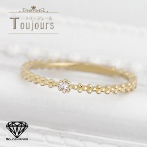 一粒ダイヤモンドリング 天然ダイヤ 指輪 18金 K18イエローゴールド レディース|risacrystal