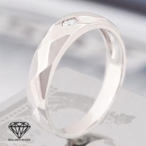14金 K14 ホワイトゴールドリング ペアリング 指輪|risacrystal