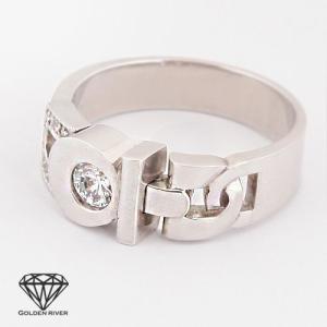 K14ゴールド リング 3デザインミックス 14金ホワイトゴールド ペアリング 指輪|risacrystal