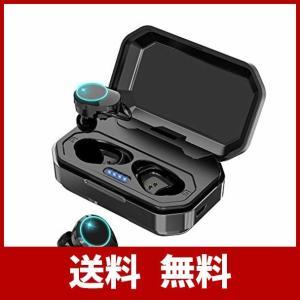 【2019進化版Bluetooth5.0 EDR搭載 IPX7完全防水 超大容量充電ケース付き 120時間連続駆動】Gaosa Bluetooth イ|risasuta
