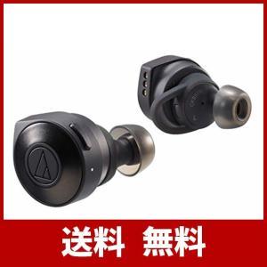 オーディオテクニカ audio-technica 完全ワイヤレスイヤホン ATH-CKS5TW BK/Bluetooth対応 左右分離型 SOLID|risasuta