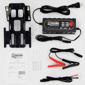 バイク用バッテリー 自動車用バッテリー フルオート 充電器 12V車専用 ジェルバッテリー AGM対応 マキシマバッテリー rise-batterystore 02