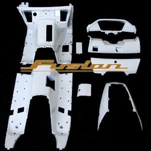 ホンダ フュージョン MF02 インナーカウル ホワイト 塗装済み 外装 白 FUSION HONDA 【クーポン配布中】|rise-corporation-jp