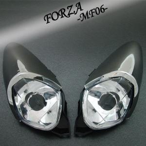 ホンダ FORZA フォルツァ MF06 フロント クリアユーロウインカー メッキカバー付【クーポン配布中】|rise-corporation-jp