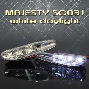 ヤマハ MAJESTY マジェスティ/C SG03J メッキ フロントダクト デイライト ホワイト発光【クーポン配布中】|rise-corporation-jp