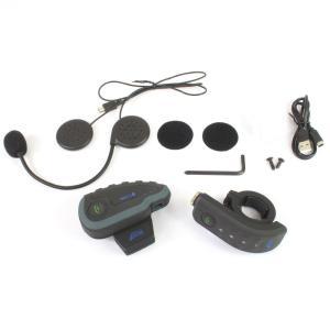Bluetooth対応 インカム 5台同時通話可能 【V8/2台セット】日本語説明書付 ( バイク ツーリング 等に )【クーポン配布中】|rise-corporation-jp|02
