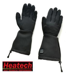 ヒーテック(Heatech) ヒートインナーグローブ 2015 M/Lサイズ わずか10秒で発熱! バイク用 電熱グローブ 3段階温度調節機能付|rise-corporation-jp