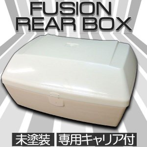 ホンダ FUSION フュージョン MF02 塗装用 リアボックス ブラックキャリア付【クーポン配布中】|rise-corporation-jp