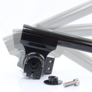 汎用 43Φ 43mm 43パイ セパレートハンドル/セパハン ブラック 角度調整可能 HIGHタイプ【クーポン配布中】|rise-corporation-jp|03