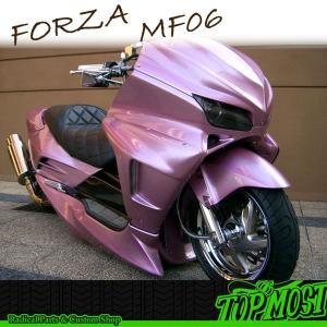 ホンダ FORZA フォルツァ MF06 トップモスト製 サイドカウル/フェイス 未塗装 #【クーポン配布中】|rise-corporation-jp