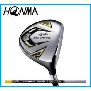本間ゴルフ Be ZEAL525 ホンマ ビジール フェアウェイウッド  VIZARD カーボンシャフト|rise-store