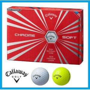 ☆即納☆日本正規品☆2016年 キャロウェイ クロム ソフト ゴルフボール 1ダース(12個入)CHROME SOFT|rise-store