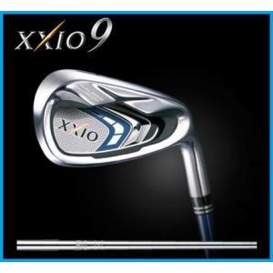 ダンロップ XXIO9 ゼクシオナイン 9  アイアン5本セット(6-9,PW) ゼクシオ N.S.PRO 890GH DST スチールシャフト|rise-store