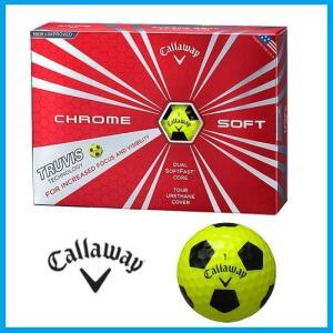 ☆Callaway Golf Ball CHROME Soft クロム クローム ソフト ボール キャロウェイ ゴルフボール ホワイト トゥルービス TRUVIS 日本正規品|rise-store