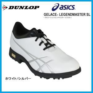 ☆アシックス ゴルフシューズ DUNLOP×asics ゲル...