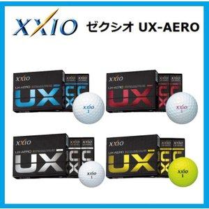 ☆ダンロップ XXIO ゼクシオ UX エアロ UX-AERO ゴルフボール 1ダース(12個入り)